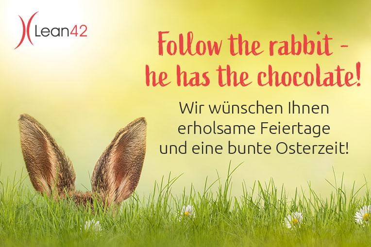 Lean42 wünscht frohe Ostern 2021