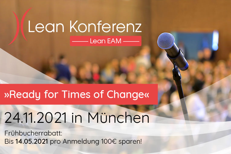 "Lean EAM KOnferenz ""Ready for Times of Change"" am 24.11.2021"
