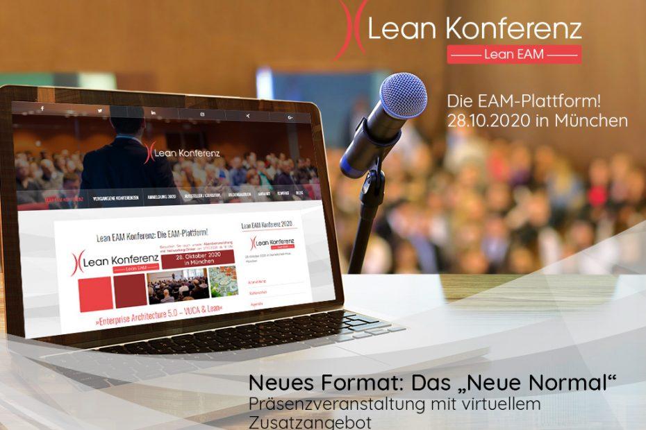 Lean EAM Konferenz 2020 im neuen Format