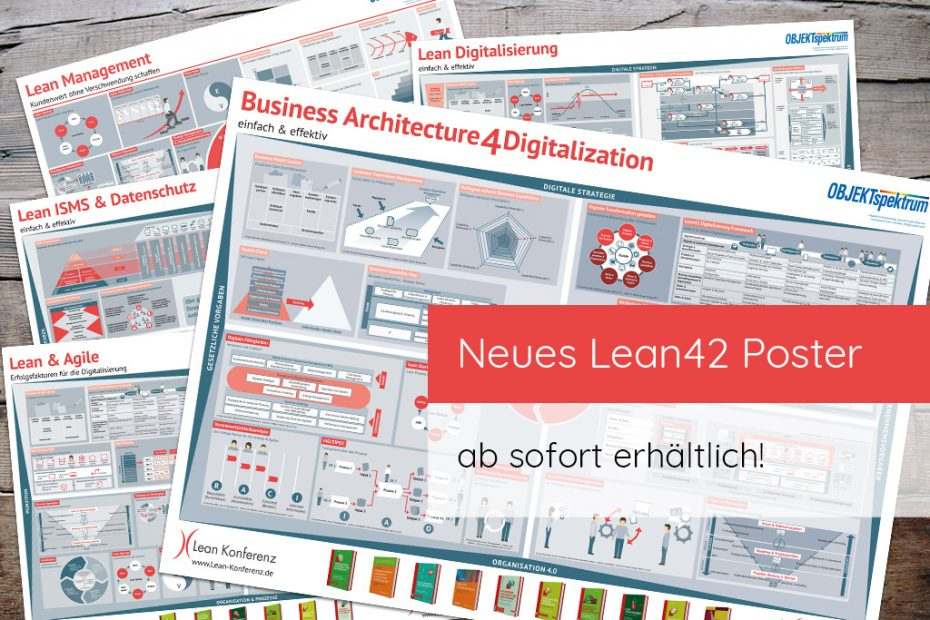 "Neues Lean42 Poster ""Business Architecture 4 Digitalization"""