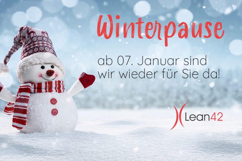 Lean42 Winterpause