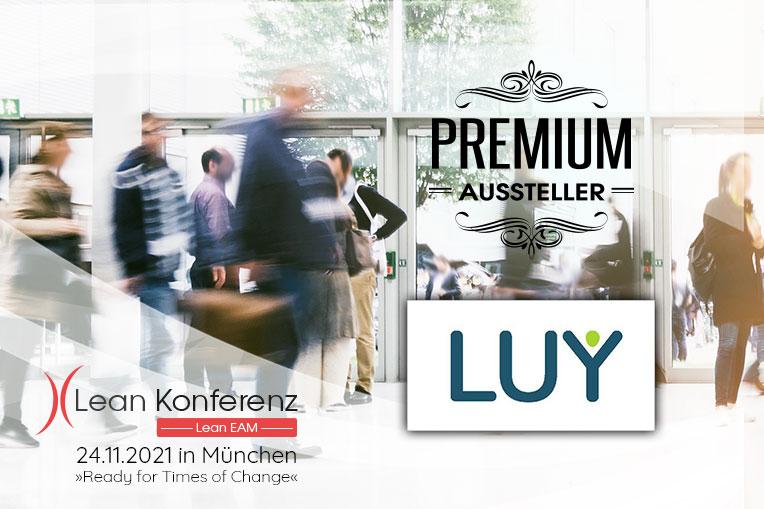 LUY – Business Navigation ist bei der Lean EAM Konferenz am 24.11.2021 vor Ort in München und steht Ihnen als Premium-Aussteller zur Verfügung.